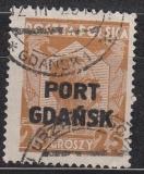 Danzig Port Gdansk Mi.-Nr. 19 oo