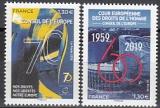 Frankreich-Europarat Mi.-Nr. 78/79 **
