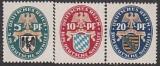 Deutsches Reich Mi.-Nr. 375/77 *