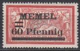 Memel Mi.-Nr. 36 b **