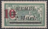 Memel Mi.-Nr. 121 III **