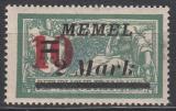 Memel Mi.-Nr. 121 IV **