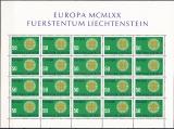 CEPT - Liechtenstein 1970 ** Kleinbogen