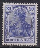 Deutsches Reich Mi.-Nr. 86 II a ** Viererblock gepr. BPP