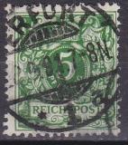 Deutsches Reich Mi.-Nr. 46 aa oo gepr.