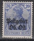 Postgebiet Oberbefehlshaber Ost Mi.-Nr. 8 *