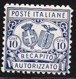 Italien - Gebührenmarken Brief - Mi.-Nr. 1 A **
