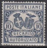 Italien - Gebührenmarken Brief - Mi.-Nr. 1 B **