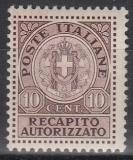 Italien - Gebührenmarken Brief - Mi.-Nr. 2 **
