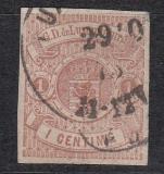 Luxemburg Mi.-Nr. 3 oo Mgl.