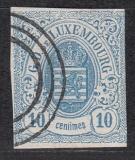 Luxemburg Mi.-Nr. 6 c oo Mgl.