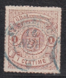 Luxemburg Mi.-Nr. 12 oo