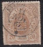 Luxemburg Mi.-Nr. 19 b oo
