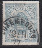 Luxemburg Mi.-Nr. 20 a oo