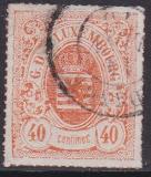 Luxemburg Mi.-Nr. 23 a oo