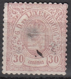 Luxemburg Mi.-Nr. 34 oo Mgl.