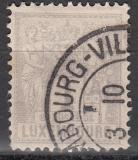 Luxemburg Mi.-Nr. 45 D oo