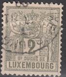 Luxemburg Mi.-Nr. 46 aD oo