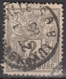 Luxemburg Mi.-Nr. 46 bB oo
