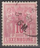 Luxemburg Mi.-Nr. 49 D oo