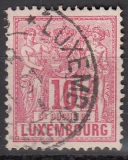 Luxemburg Mi.-Nr. 49 B oo