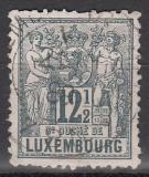 Luxemburg Mi.-Nr. 50 A oo