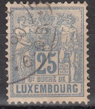 Luxemburg Mi.-Nr. 52 D oo