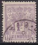 Luxemburg Mi.-Nr. 55 A oo Mgl.