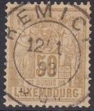 Luxemburg Mi.-Nr. 54 D oo