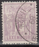 Luxemburg Mi.-Nr. 55 B oo