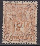 Luxemburg Mi.-Nr. 56 B oo