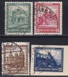 Deutsches Reich Mi.-Nr. 459/62 oo gepr. BPP