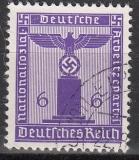 Deutsches Reich Dienst Mi.-Nr. 155 oo