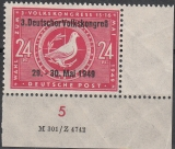 SBZ Mi.-Nr. 233 II DV 2 ** gepr.