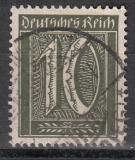 Deutsches Reich Mi.-Nr. 159 b oo Kurzbefund