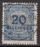 Deutsches Reich Mi.-Nr. 319 A Wa oo gepr.