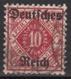 Deutsches Reich Dienst Mi.-Nr. 53 oo gepr.