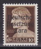 Deutsche Besetzung Zara Mi.-Nr. 20 - 4 **