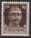 Deutsche Besetzung Zara Mi.-Nr. 35 1 - 4 * Kurzbefund