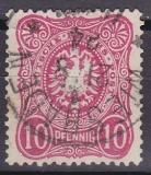 Deutsches Reich Mi.-Nr. 40 II D oo gepr.