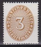 Deutsches Reich Dienst Mi.-Nr. 114 X **