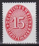 Deutsches Reich Dienst Mi.-Nr. 118 X **