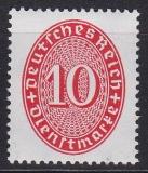 Deutsches Reich Dienst Mi.-Nr. 123 X **