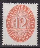 Deutsches Reich Dienst Mi.-Nr. 129 X **