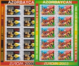 CEPT Aserbaidschan A 2003 ** Kleinbogen