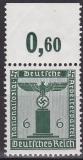 Deutsches Reich Dienst Mi.-Nr. 148 P OR **