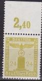Deutsches Reich Dienst Mi.-Nr. 152 P OR **