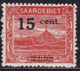 Saar Mi.-Nr. 73 **
