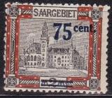 Saar Mi.-Nr. 79 **