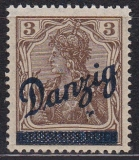 Danzig Mi.-Nr. 34 *
